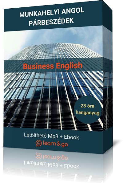 üzleti angol hanganyag